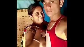 real bhabhi get her boobs sucked by devar in front of her own son